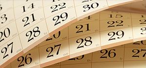 CALENDAR & EVENTS