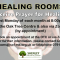 Healing Rooms: 1st November 2021 (First Monday of each month)