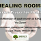 Healing Rooms: 2nd November 2020 (First Monday of each month)