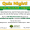 Quiz Night!  Friday 20th March 2020